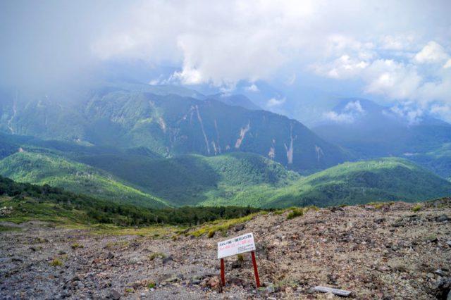 山腹からの眺望