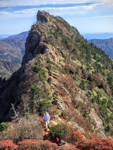 天狗岳への道