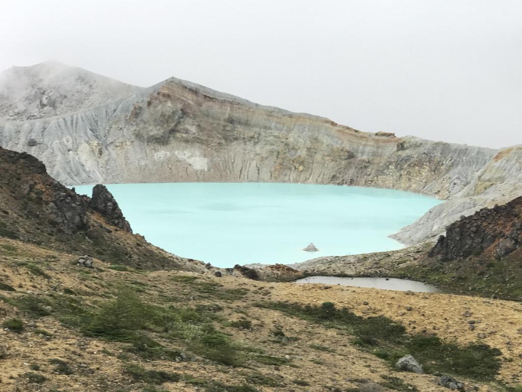 草津白根山 美しい景色の山が噴火のニュースに驚く 日本百名山25座