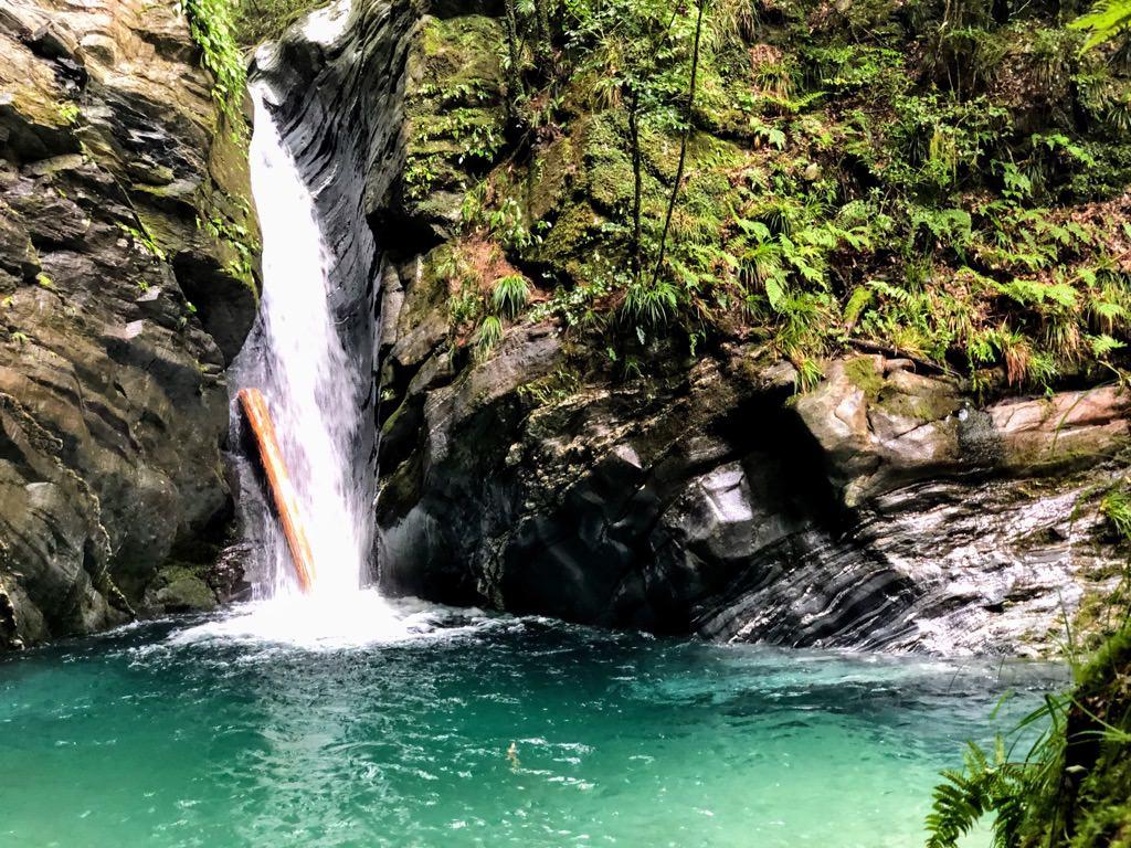 三樽権現の滝