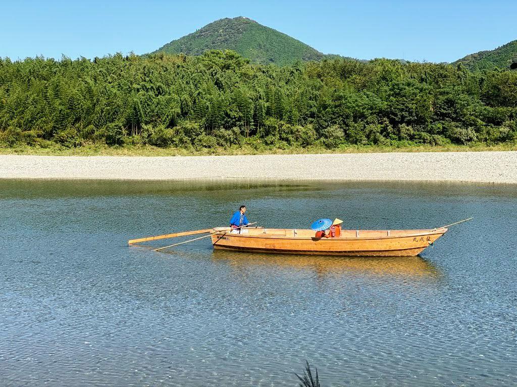 仁淀川和船清流遊び