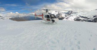 氷河ヘリコプター