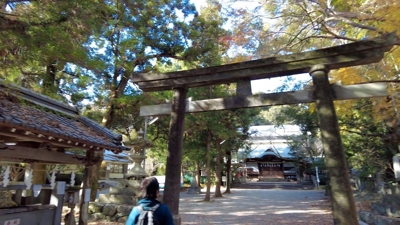 朝倉神社 あさくらじんじゃ に到着