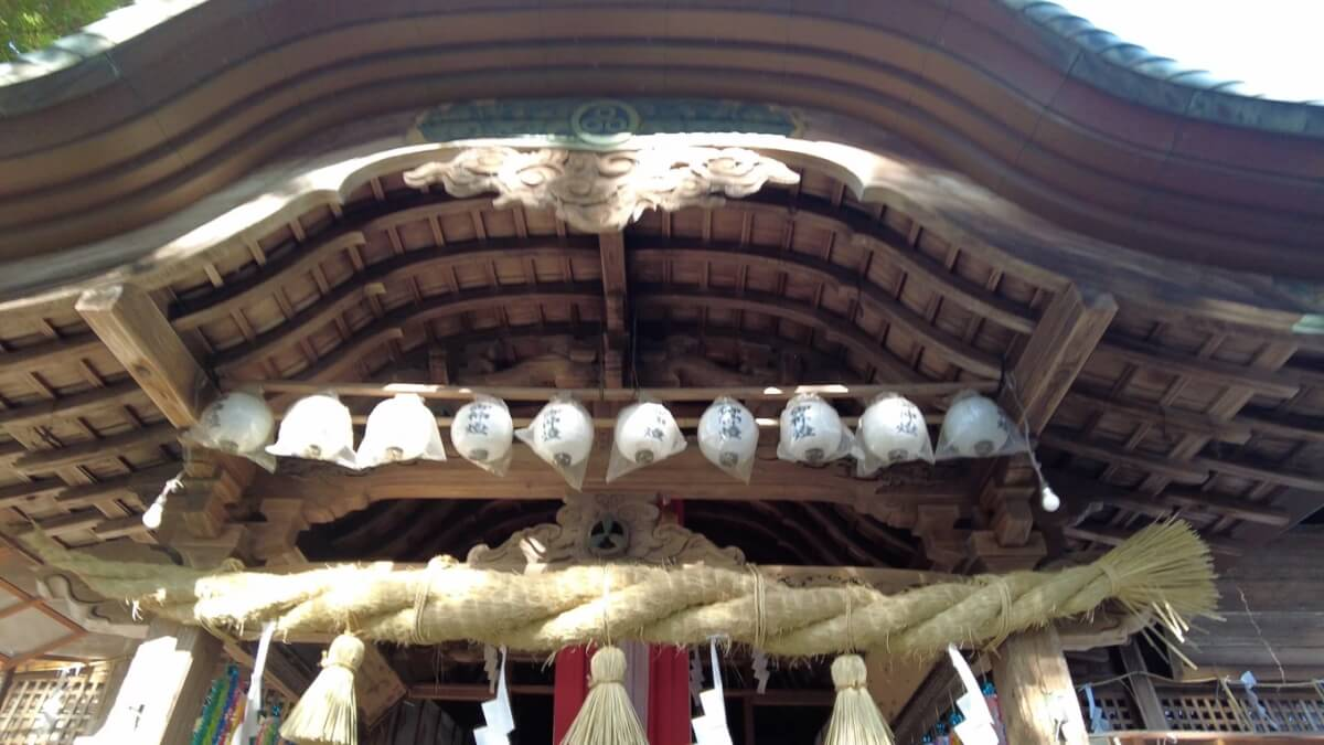 この神社の秋の大祭は 土佐三大祭りの一つになっている