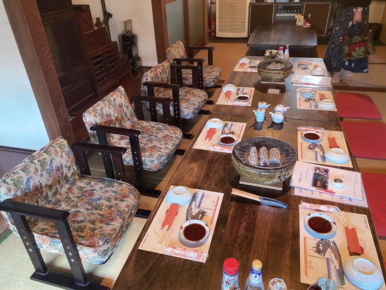 予約してあったので 既にテーブルは準備されていた