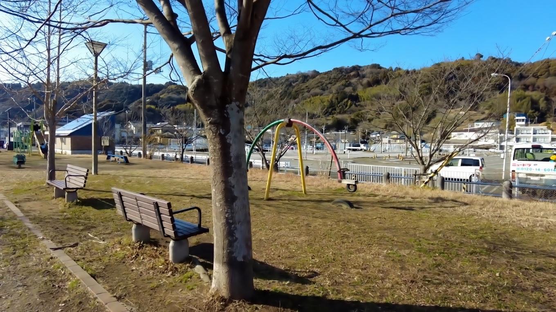 枝川公園にやってきた
