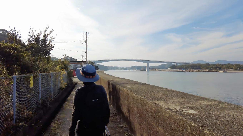 浦戸大橋 うらどおおはし が見えてきた