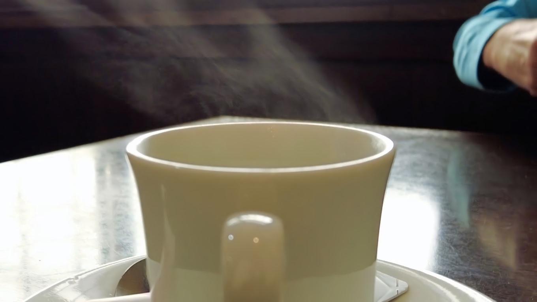 食後にコーヒーが付いて850円
