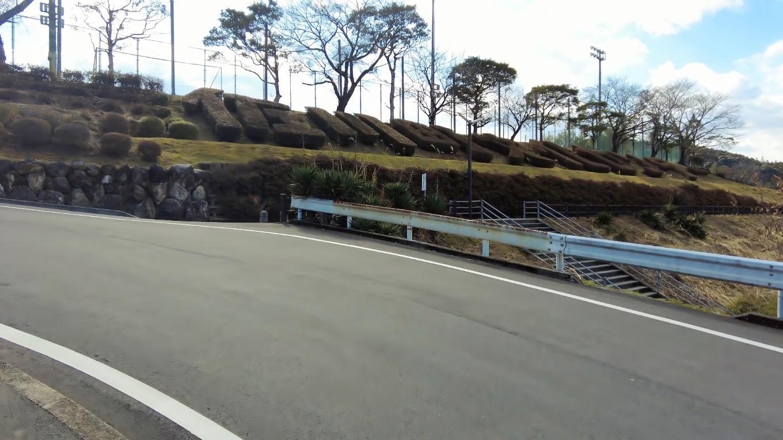 佐川町文化センターと植栽で書かれている