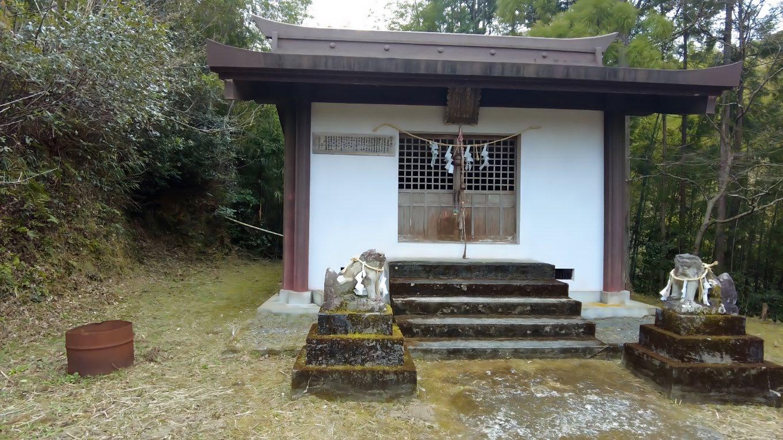 恵比寿神社と稲荷神社が合祀されている