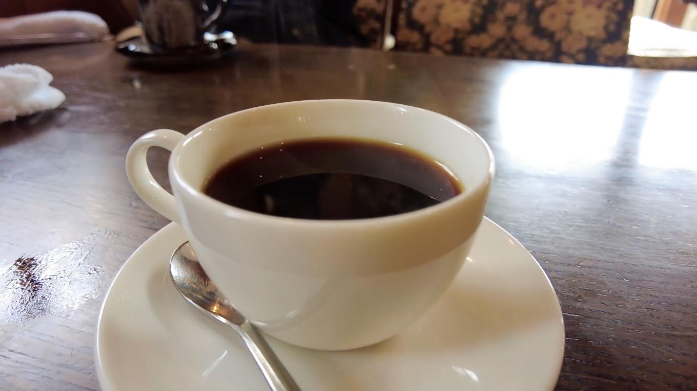さすが珈琲館 食後のコーヒーがおいしい