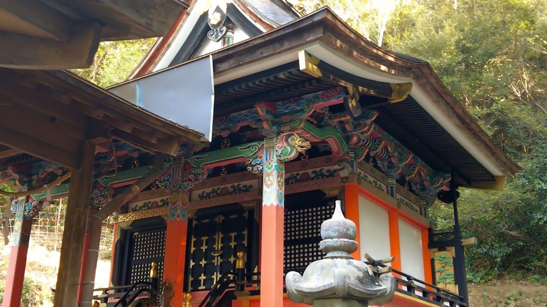 社殿は国の重要文化財に指定されている