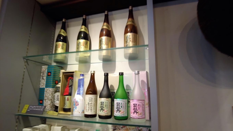 佐川町は司牡丹という酒蔵がある
