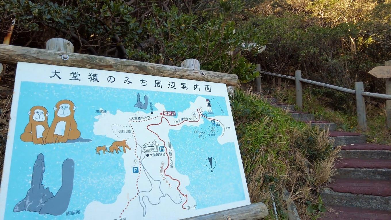 この日はまず観音岩を見てから 大堂山展望台 おおどうやまてんぼうだい まで歩くことにした