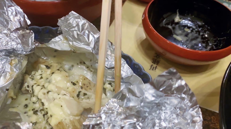 魚のホイル焼き