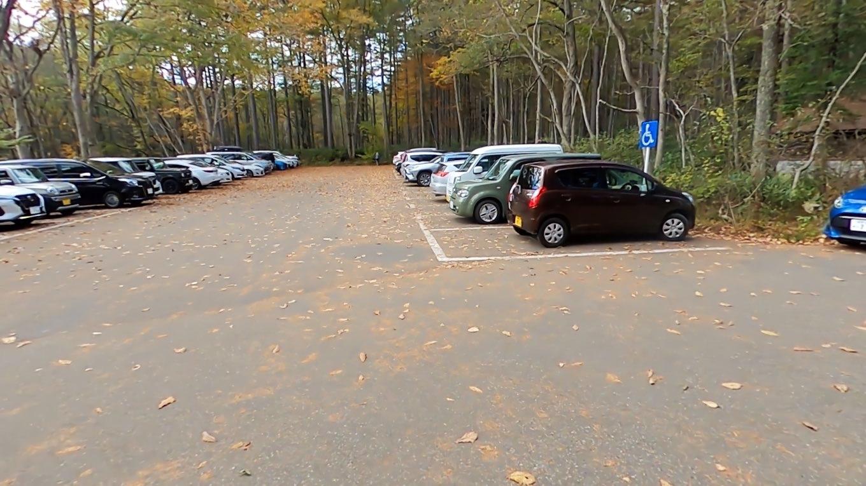 この駐車場は無料なのが嬉しい