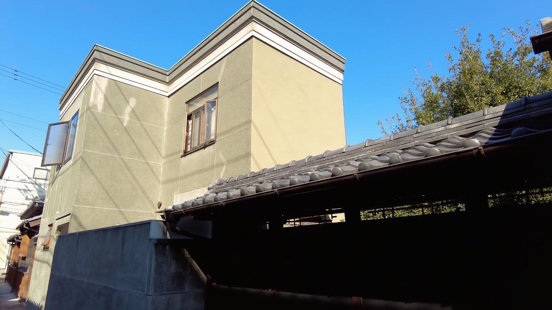 背山 せざん という名の 昭和5年に建てられた洋館だ