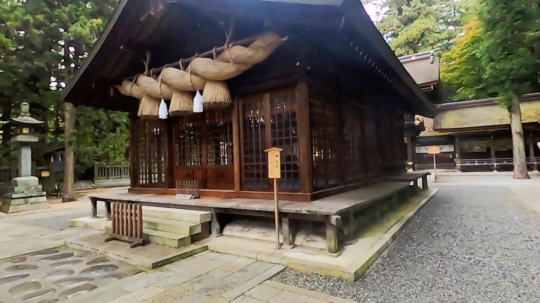 神楽殿 かぐらでん は 1681年頃に造営された