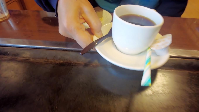 ツレはコーヒーをチョイス