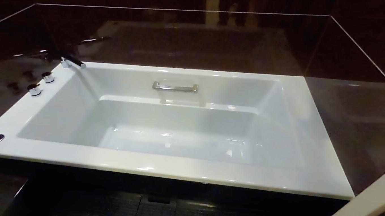 一応部屋にもお風呂がついている