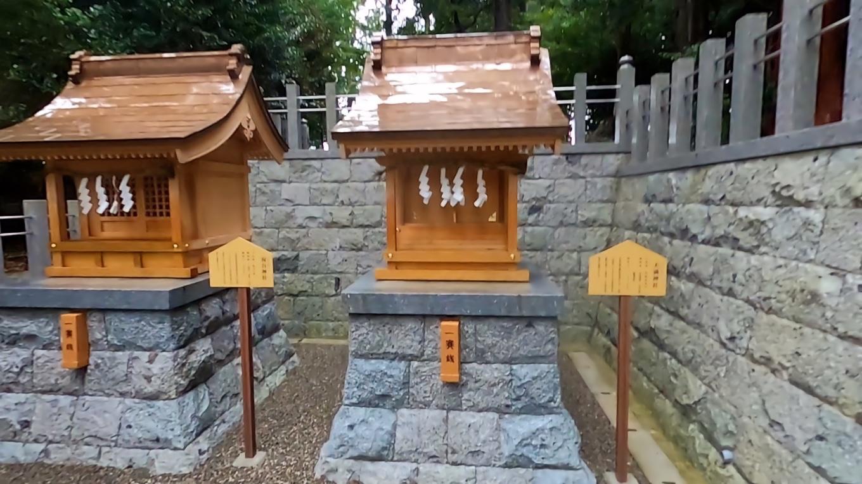 その反対側には 天満社 祝谷神社が鎮座する