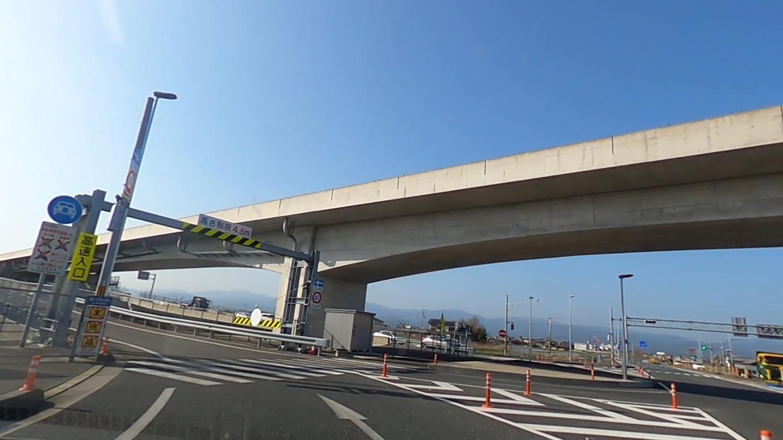 帰りは高知龍馬空港ICから高知東部自動車道に乗る