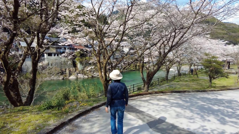 北浦橋の下にある仁淀川ふれあい公園に下りてみた