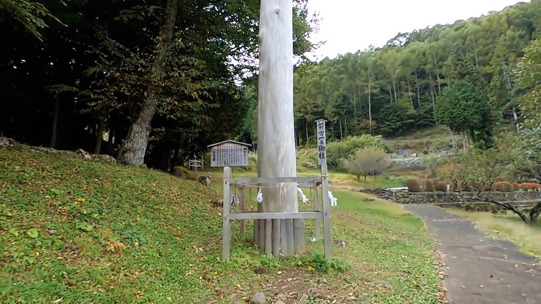 前宮は 唯一4本の御柱を触れて回れる