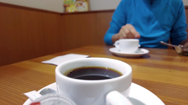 コーヒー付きで670円と割安で嬉しい