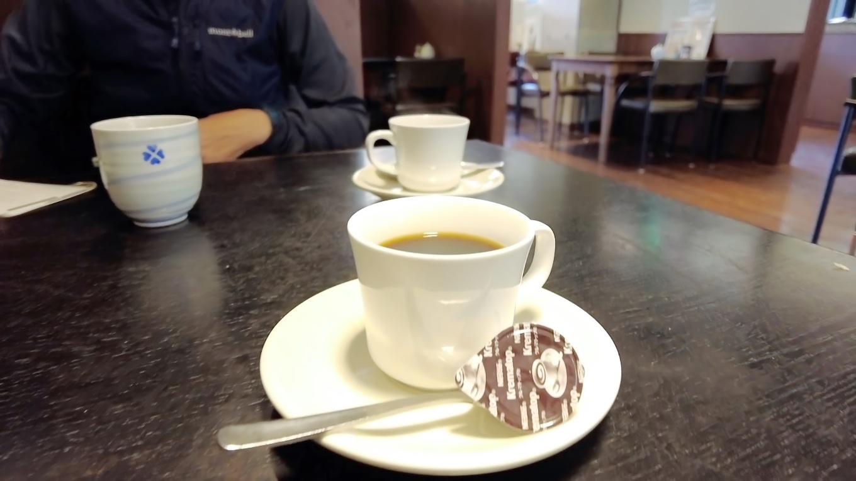 食後のコーヒー付きで700円と安い