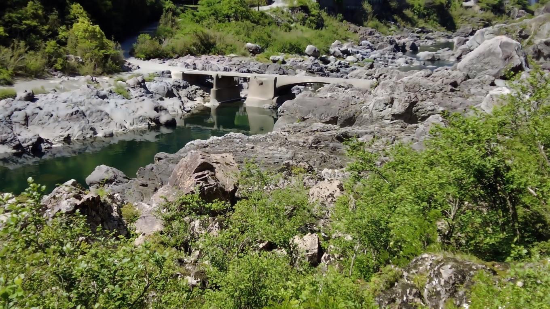 高知県最古の沈下橋だ