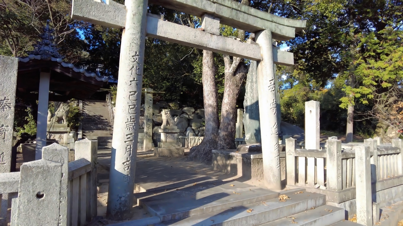 隣接する春日神社 かすがじんじゃ に参拝する
