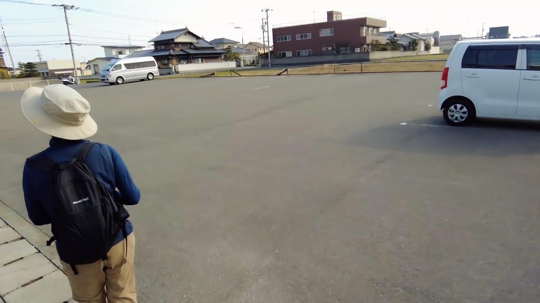 泰山寺の駐車場に到着