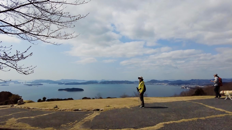 ここからの景色は素晴らしい