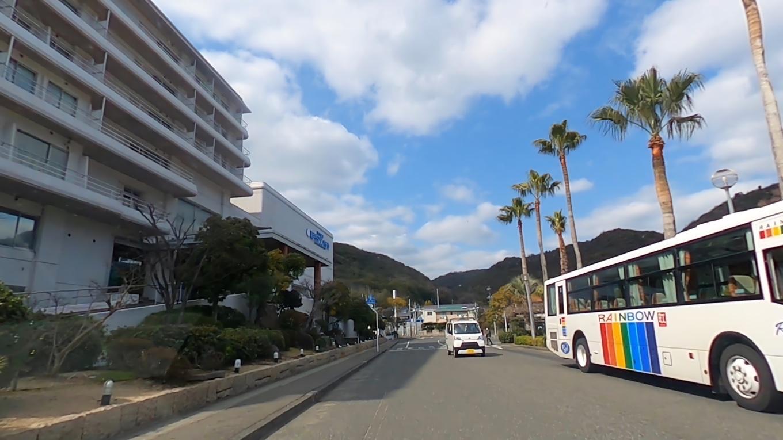 そこから車で 渋川海岸にやってきた