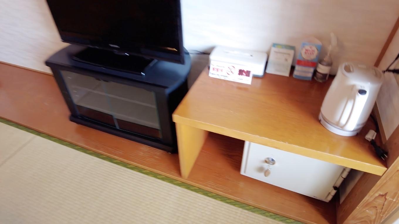 金庫 湯沸かし テレビ