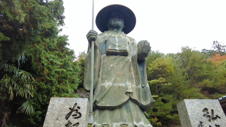 大きな弘法大師像