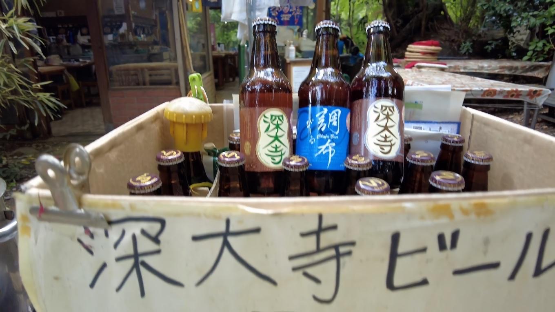 深大寺ビールを売っていた