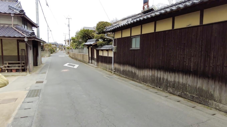 吉備津彦神社に向けて戻っていく