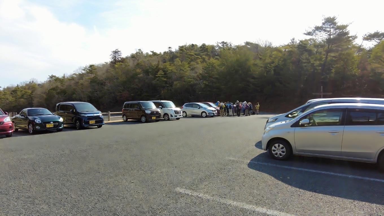 駐車場はとても広い 2