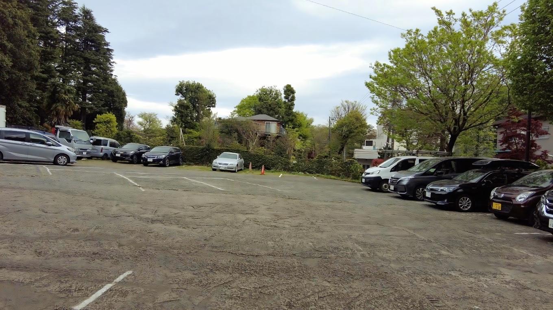 民間の有料駐車場に車を停める