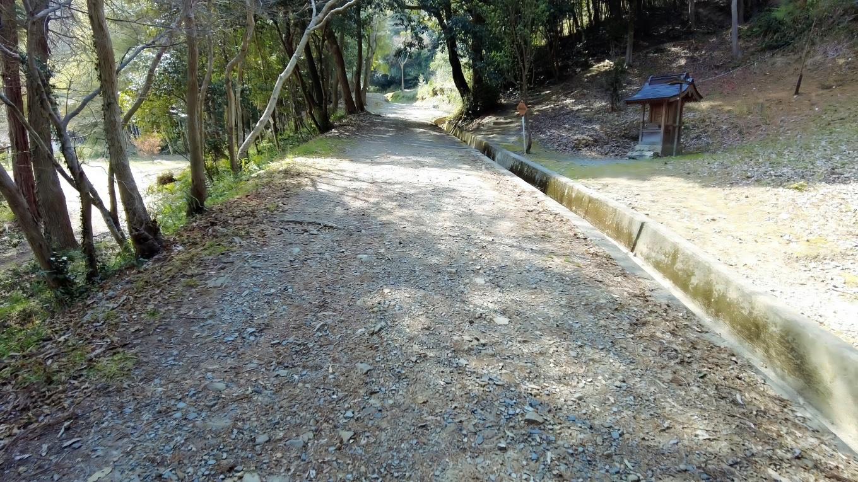 ここには中国自然歩道という遊歩道が整備されている
