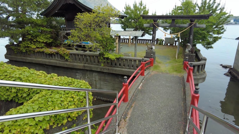 厳島神社 いつくしまじんじゃ に到着