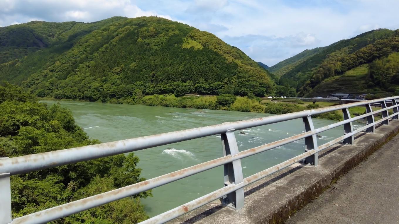 広井大橋まで歩いてきた