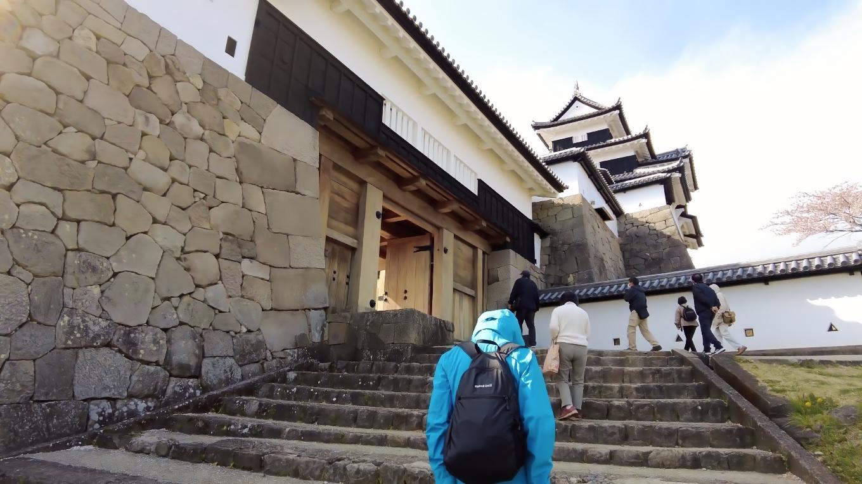 白河小峰城は日本100名城のひとつになっている