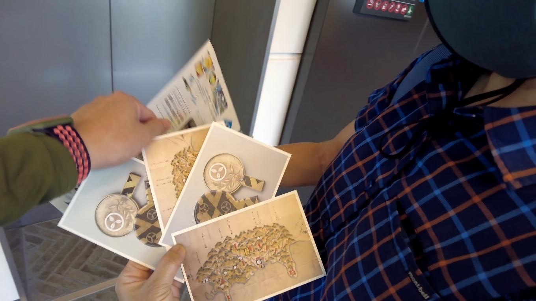 さらにポストカードのおまけももらった