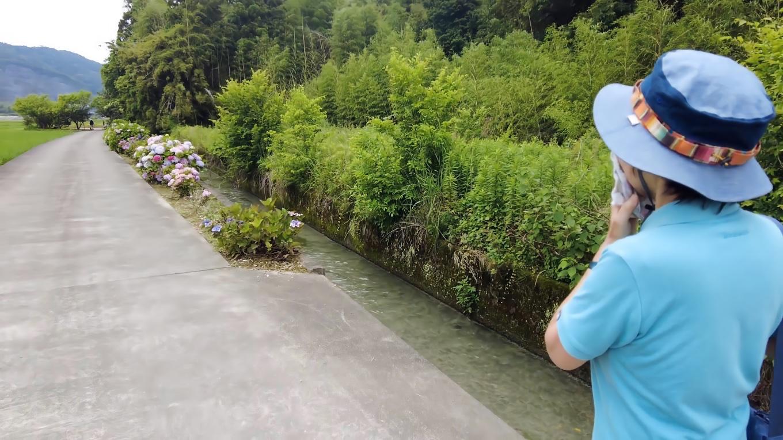 ようやく加茂川親水公園に到着