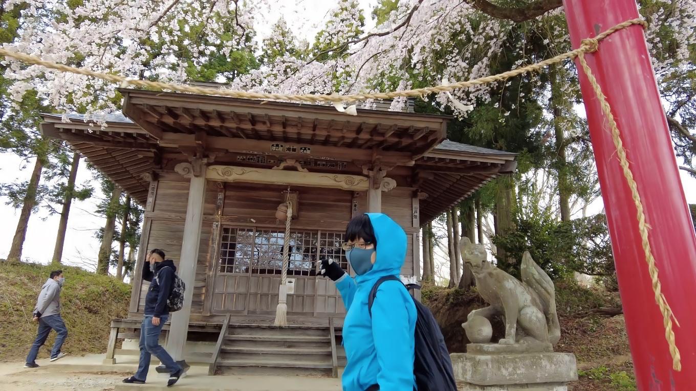 稲荷神社だ