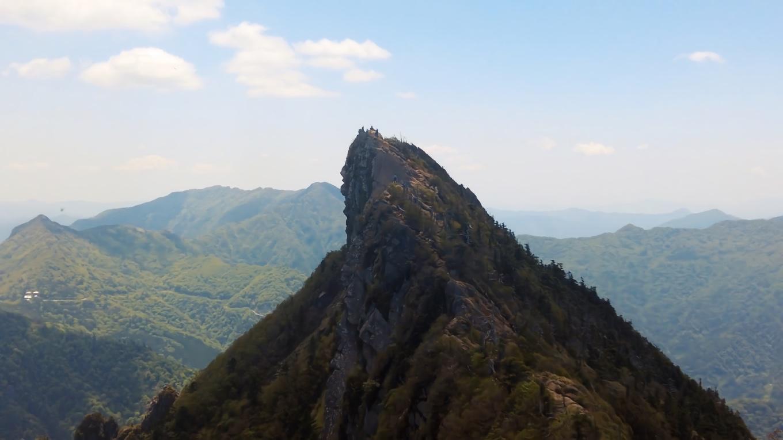 天狗岳山頂もきれいに見える