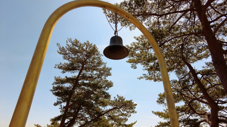 ここに福を呼ぶ鐘がある